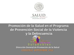 Presentación de PowerPoint - Dirección General de Promoción de