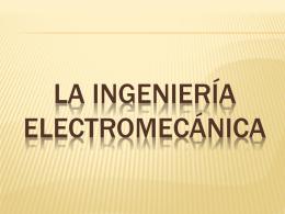 La ingeniería Electromecánica - fundamentos-investigacion-elec