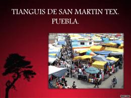 TIANGUIS DE SAN MARTIN TEX