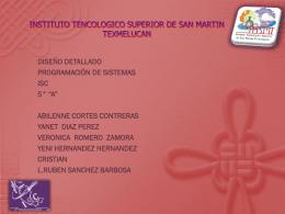 INSTITUTO TENCOLOGICO SUPERIOR DE SAN MARTIN