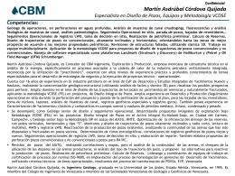 CV Martín Córdova