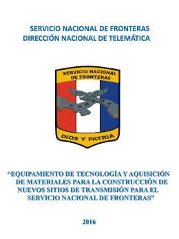 CONSTRUCCIÓN DE SITIOS DE TRANSMISIÓN PARA LA
