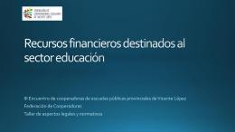 Presentación - Federacion de Cooperadoras de Vicente Lopez