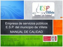 manual de calidad 2014