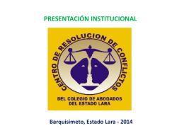 Presentación CRC 2014 - Sanchez & Franco | Abogados Consultores