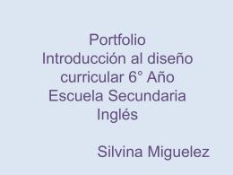 Portfolio Mercedes Miguelez - CIIE-R10