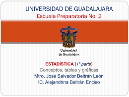 UNIVERSIDAD DE GUADALAJARA Escuela Preparatoria No. 2