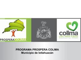 Presentación Ixtlahuacán - Gobierno del Estado de Colima