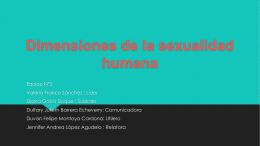 Dimensiones de la sexualidad humana (373749)