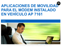 vmm ap 7161 - Motorola Solutions Communities