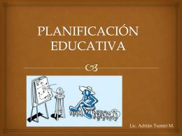Planificacion Educativa
