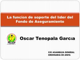 La función de soporte del líder del Fondo de Aseguramiento