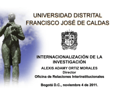 internacionalización de la investigación