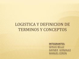 funciones de la logistica