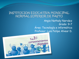 institucion educativa municipal normal superior de