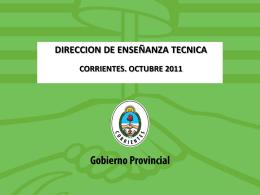 PP Muestra 2011 - Dirección de Educación Técnico Profesional