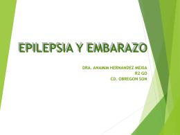 epilepsia y embarazo - dr
