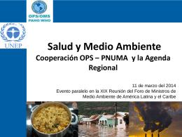 Slide 1 - Programa de las Naciones Unidas para el Medio Ambiente