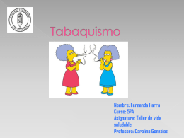 Tabaquismo Fernanda ParraNOV21 519KB Nov 21 2014 09:33