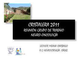 cristalera 2011 leonor