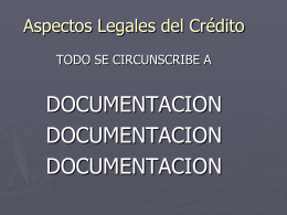 Documentación Legal