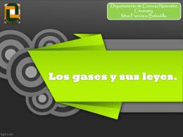 Los gases y sus leyes