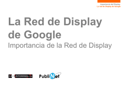 La Red de Display de Google
