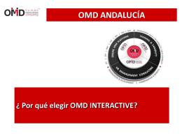 Presentacion OMD Andalucia