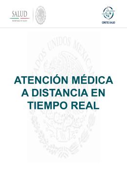 Atención Médica a Distancia En Tiempo Real