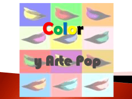 Color y Arte Pop - TCOLOR-GC2011-2