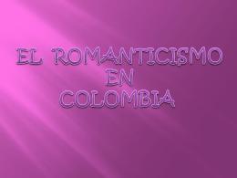 el romantisismo.