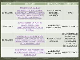 Nuevos - Fundación Produce Chihuahua