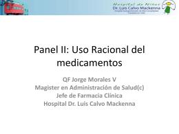 Comité de Farmacia y Terapeutica