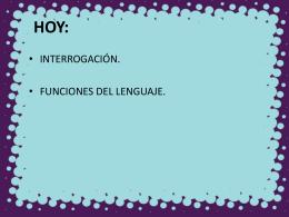 funciones del lenguaje 2 - Liceo Bicentenario Talagante