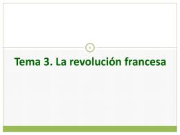 HMC T3 La revolución francesa