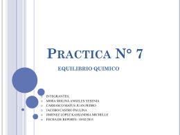 Practica 7 CAMBIOS QUIMICOS