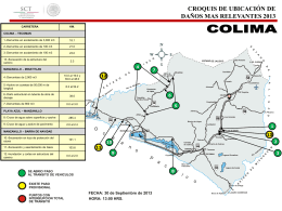 Mapas de incidencias Carreteras Federales 30-09-2013