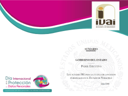 veracruz - Instituto de Acceso a la Información Pública y