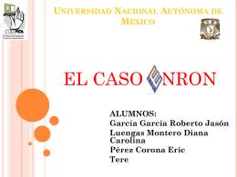 Universidad Nacional Autónoma de México ALUMNOS