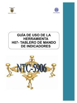 GUIA DE LA HERRAMIENTA H07- Tablero de