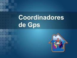 Coordinadores de Gps