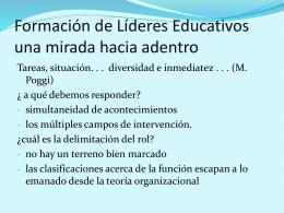 Gestión Estratégica de la Institución Escolar