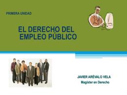 1 unidad.- el derecho del empleo publico