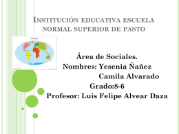 Institución educativa escuela normal superior de pasto