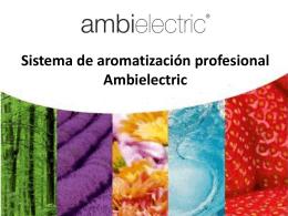 3_Sistema de Aromatizacion profesional Ambielectric 2013