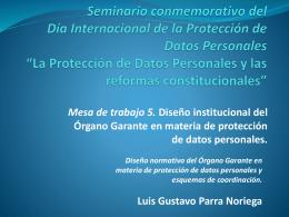 gustavo_parra - Instituto de Acceso a la Información Pública y