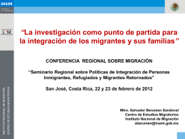 Instituto Nacional de Migración (México). Sr. Salvador Berumen