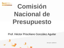 Comisión Nacional de Presupuesto