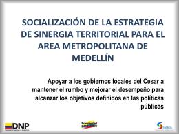 Qué es la Estrategia de Sinergia Territorial?