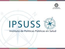 Estudio IPSUSS Medicamentos presentado en Coloquio